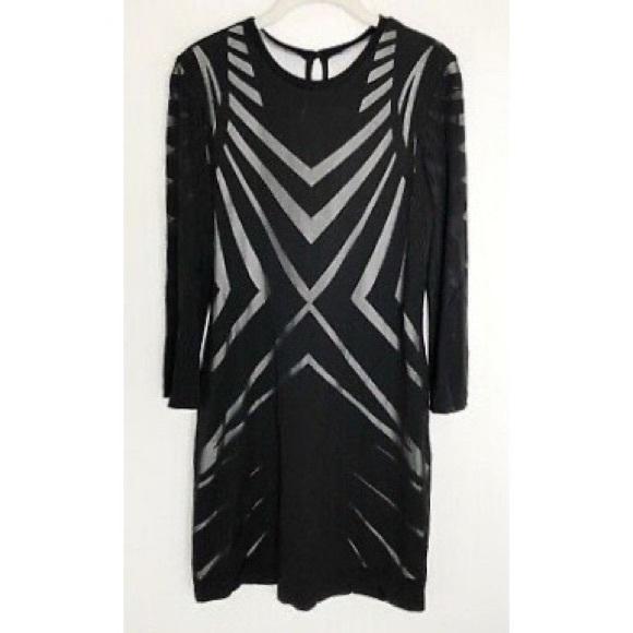 Nicole Miller Artelier black dress